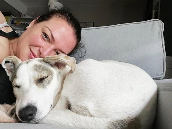 Griekse zwerfhond Betty is geadopteerd -5